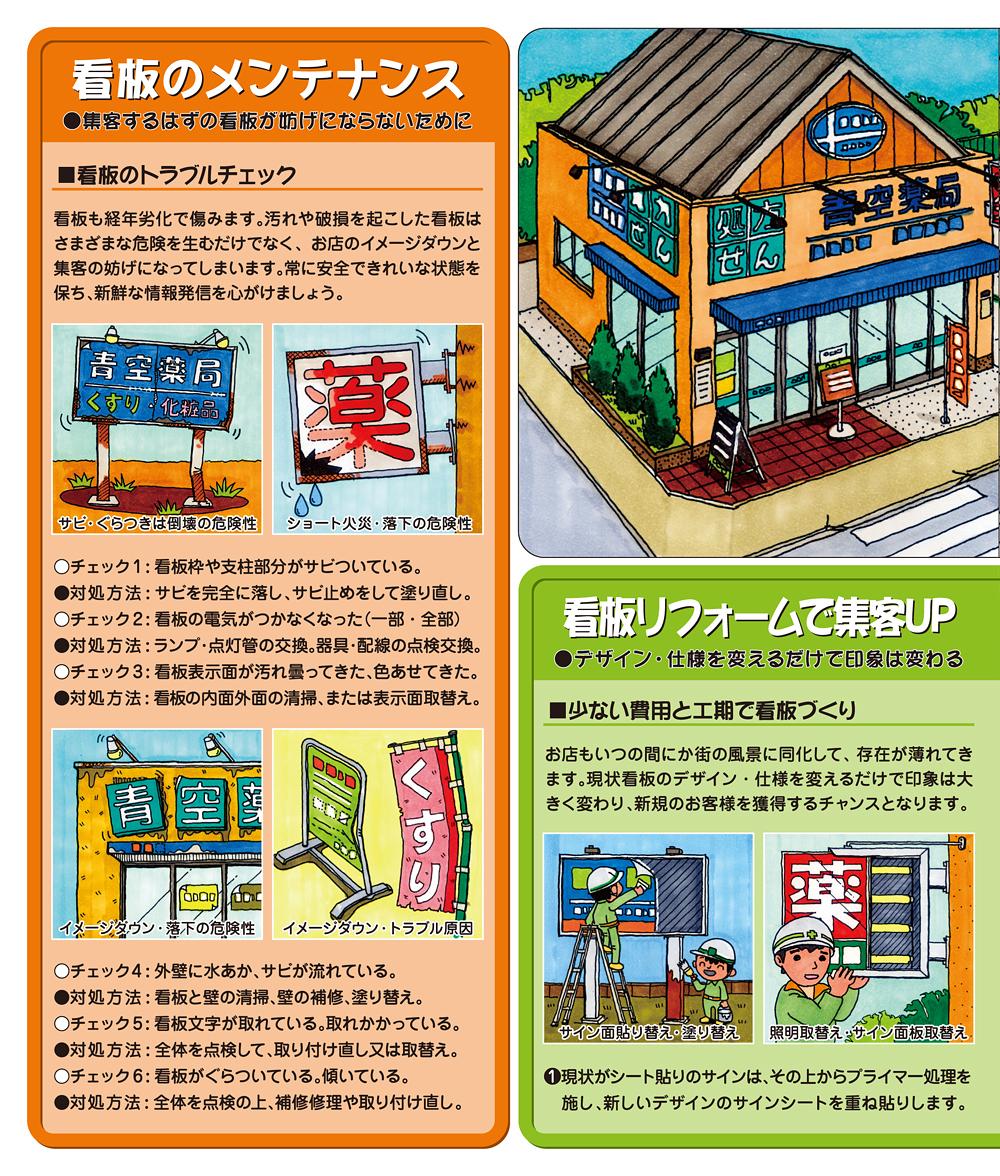 お店のメンテナンス&リフォーム/看板編